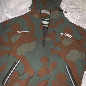 42325669c Off-White Jackets & Coats | Offwhite Diag Brushed Field Jacket ...
